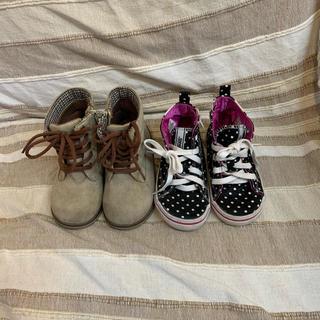 ヴァンズ(VANS)の女の子17センチ靴まとめ売り(スニーカー)