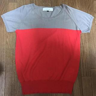 ルシェルブルー(LE CIEL BLEU)のルシェルブルー トップス(カットソー(半袖/袖なし))