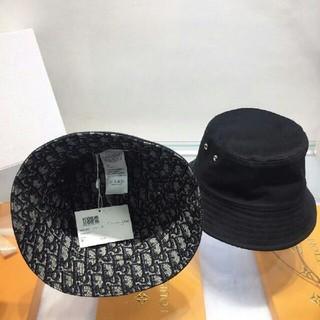 ディオール(Dior)の美品!Dior ディオールバケツハット 男女兼用 両面用 (ハット)