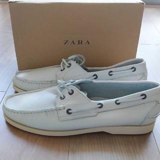 ZARA - 新品未使用⭐ ZARA MAN デッキシューズ 27センチ