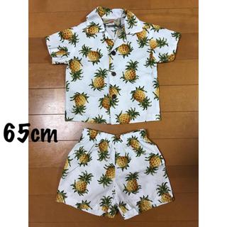 👕 hawaii / パイナップル柄セットアップ(Tシャツ)