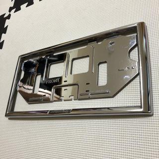 ホンダ - HONDA ホンダ ナンバーフレーム フロント 純正 1枚