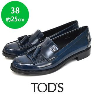 TOD'S - 新品❤️トッズ タッセル レディース ローファー 38(約25cm)
