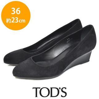 TOD'S - トッズ スウェード ウェッジソール パンプス 36(約23cm)