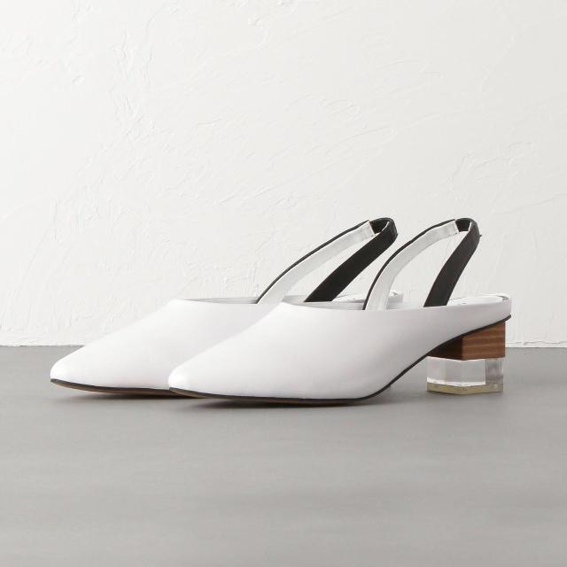 Odette e Odile(オデットエオディール)のクリアヒール サンダル レディースの靴/シューズ(サンダル)の商品写真