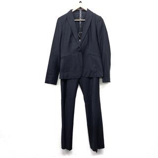 アイシービー(ICB)のiCB アイシービー レディース パンツスーツ 紺 シンプル 日本製(スーツ)