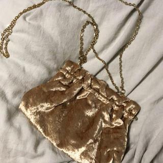 サンタモニカ(Santa Monica)のvintage  velours bag(ショルダーバッグ)
