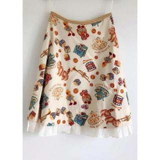 ジェーンマープル(JaneMarple)の値下げ可能 ジェーンマープル dear my crew スカート (ひざ丈スカート)