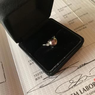 黒真珠  連休限定値下げ(リング(指輪))