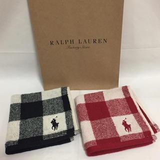 Ralph Lauren - ラルフローレン  タオルハンカチ  ⭐︎2