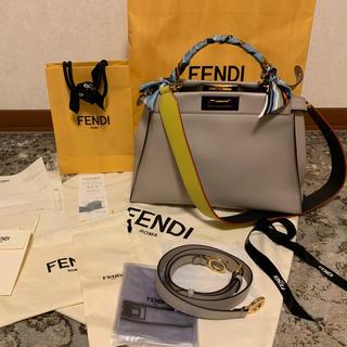 フェンディ(FENDI)のフェンディ FENDI ピーカブー ストラップユー 付き 梅田阪急購入 (ショルダーバッグ)