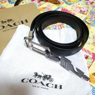 COACH F55158 リバーシブル ベルト☆正規品