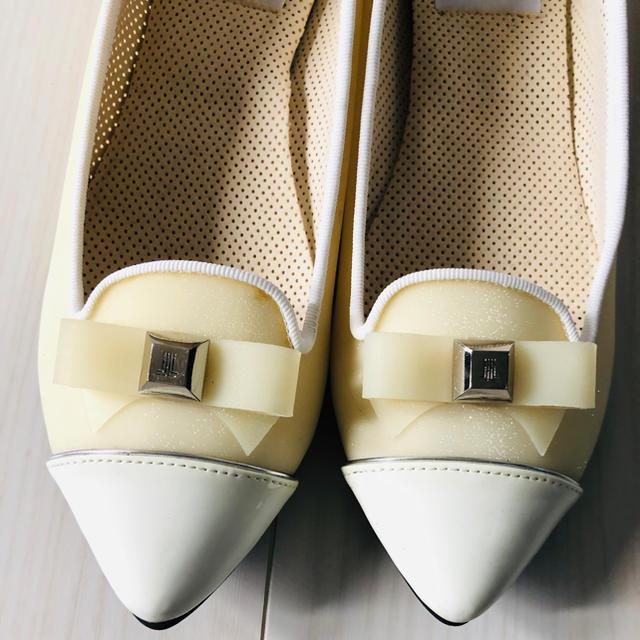 LANVIN en Bleu(ランバンオンブルー)のLANVIN フラットシューズ レディースの靴/シューズ(バレエシューズ)の商品写真