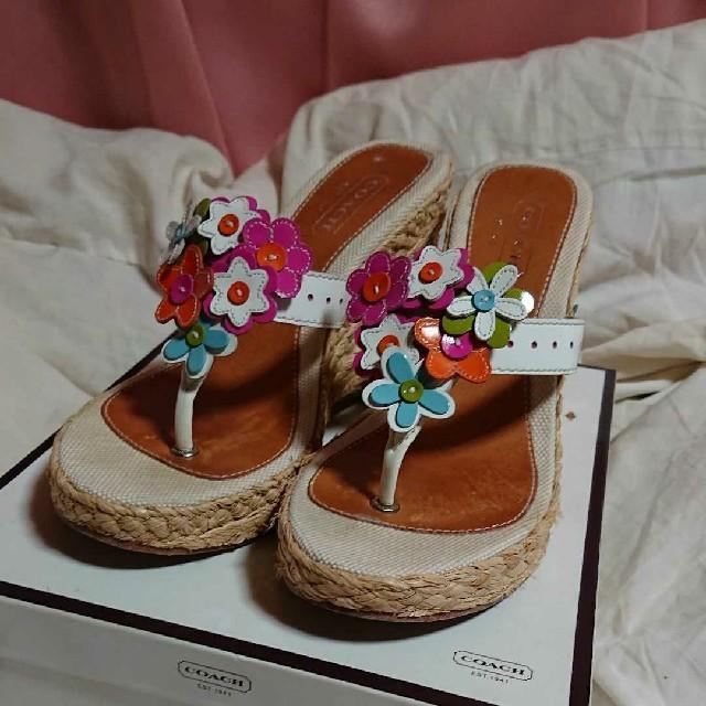 COACH(コーチ)のCOACH サンダル レディースの靴/シューズ(サンダル)の商品写真