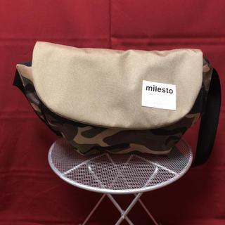 milesto ボディバッグ 新品未使用 定価7,020円(ボディーバッグ)