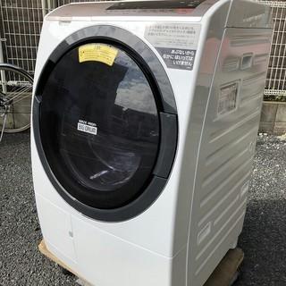 日立 - 日立 HITACHI BD-SV110CR ドラム式洗濯乾燥機 シャンパン