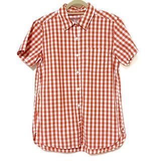 ムジルシリョウヒン(MUJI (無印良品))の無印良品 半袖チェックシャツ(シャツ/ブラウス(半袖/袖なし))