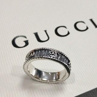 グッチ(Gucci)の刻印 GUCCI グッチ リング US8号 綺麗 (リング(指輪))