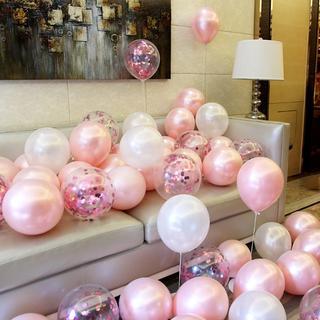 風船 バルーン 誕生日お祝い 記念日 誕生日 飾り付け (21個入り)ピンク