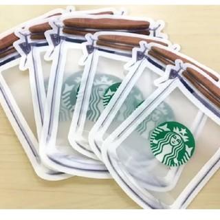 スターバックスコーヒー(Starbucks Coffee)のStarbucks ジッパーバック(収納/キッチン雑貨)