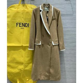 フェンディ(FENDI)のFENDI フェンディ ロングパーカー 綺麗 お勧め(ロングコート)