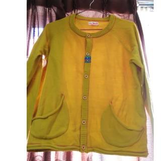 チチカカ(titicaca)のチチカカ 黄色系カーデ S*プロフ参照*(カーディガン)
