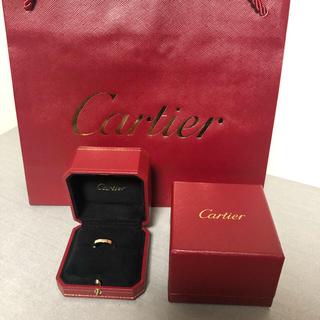 カルティエ(Cartier)のカルティエ ラニエール ピンクゴールド8号 新品仕上済み(リング(指輪))