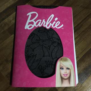 Barbie - バービー  Barbie 黒 タイツ ストッキング リボン