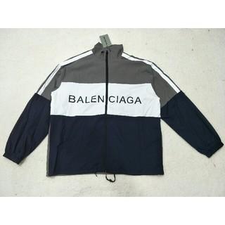 バレンシアガ(Balenciaga)のBalenciaga バレンシアガ 防風ジャケット メンズ 正規品(ナイロンジャケット)