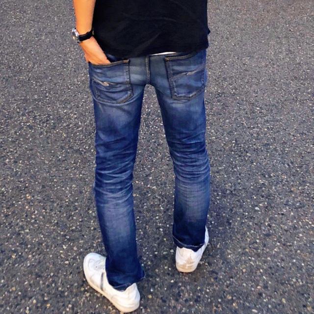 Nudie Jeans(ヌーディジーンズ)のヌーディージーンズ  thin finn W31L32 メンズのパンツ(デニム/ジーンズ)の商品写真