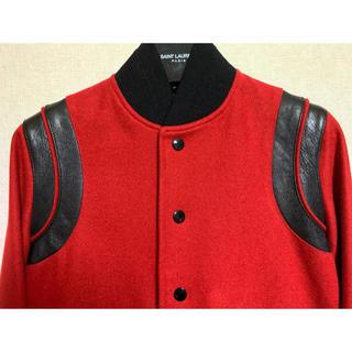 Saint Laurent - ♡期間限定お値下げ●サンローランパリ15ss赤テディジャケット34新品