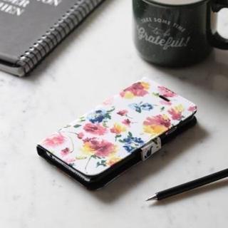 フランフラン(Francfranc)の新品 フランフラン ラヴィ ブックタイプ 手帳型 携帯ケース スマホケース(iPhoneケース)