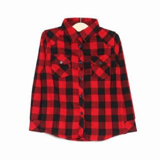 サルース(salus)のsalus チェックシャツ(Tシャツ/カットソー)