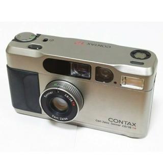キョウセラ(京セラ)のコンタックス T2 チタンシルバー(フィルムカメラ)