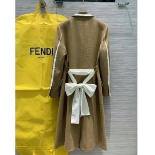 フェンディ(FENDI)の早い者勝ちFendiフェンデイ ロングコート ジャケット レディース  正規品(ロングコート)