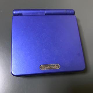 ゲームボーイアドバンス - ゲームボーイアドバンスSP 青 中古品 任天堂 Nintendo