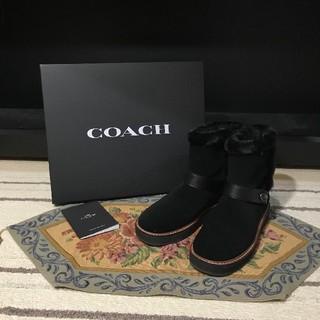 コーチ(COACH)の2018☆COACH☆コーチ☆ムートンブーツ☆7B(ブーツ)