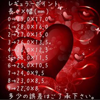 ネイルチップ❤️レギュラーポイント コスメ/美容のネイル(つけ爪/ネイルチップ)の商品写真