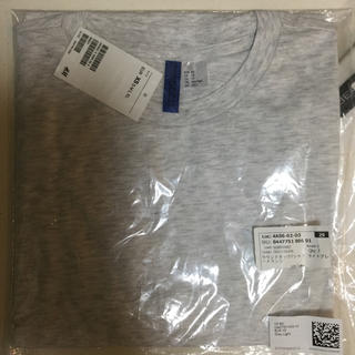 エイチアンドエム(H&M)のH&M Tシャツ 半袖 ライトグレーメランジ(Tシャツ/カットソー(半袖/袖なし))