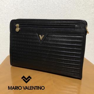 マリオバレンチノ(MARIO VALENTINO)のマリオヴァレンチノ MARIO VALENTINO  セカンド バッグ レザー(セカンドバッグ/クラッチバッグ)