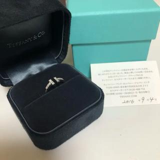 ティファニー(Tiffany & Co.)の⭐️SALE⭐️正規品⭐️Tiffanyダイヤホワイトゴールドリング(リング(指輪))