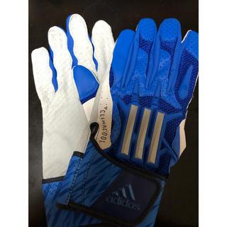 アディダス(adidas)のアディダス バッテイング手袋(グローブ)