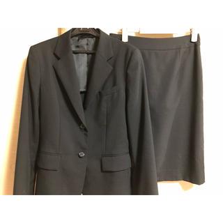 アオヤマ(青山)のリクルートスーツ 9号 上下セット クリーニング済み(スーツ)