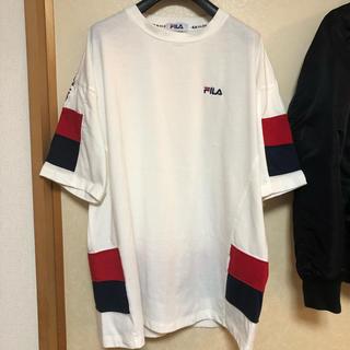 フィラ(FILA)の1度着用のみ☺︎フィラ オーバーサイズTシャツ(Tシャツ(半袖/袖なし))