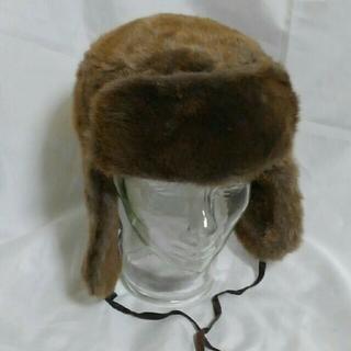 CA4LA - 耳当て付き フェイクファー ハット 未使用品 CA4LA ロシア帽 メーテル