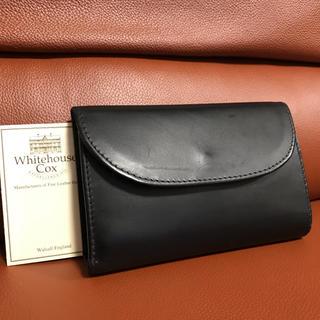 WHITEHOUSE COX - ホワイトハウスコックス 三つ折り財布