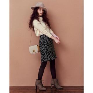 31 Sons de mode - シャギーレオパードタイトスカート♡