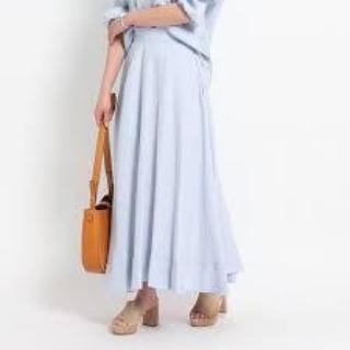 マディソンブルー(MADISONBLUE)のMADISONBLUE / リネンサーキュラースカート(ロングスカート)