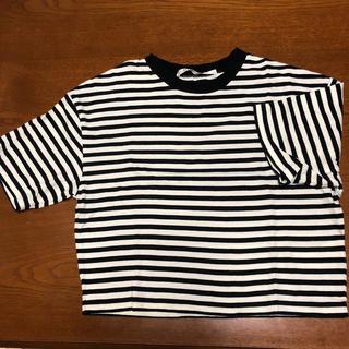 スライ(SLY)のショート丈 Tシャツ(Tシャツ(半袖/袖なし))