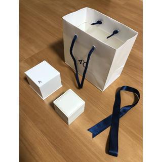 ヨンドシー(4℃)の4°C ジュエリーボックス 空箱 ショップ袋 リボン(ショップ袋)